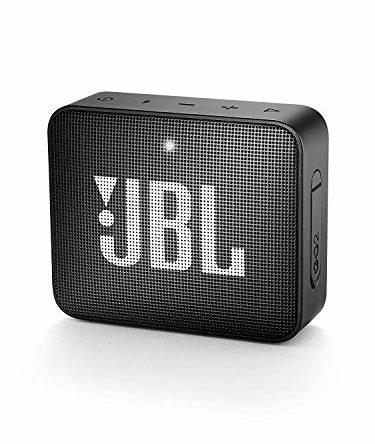 JBL GO 2 Bluetooth-Lautsprecher (Wasserfester, schwarz)