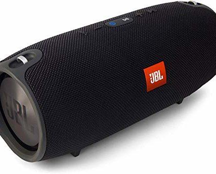 JBL Xtreme Spritzwasserfester Tragbarer Bluetooth Lautsprecher mit 10,000 mAh Akku